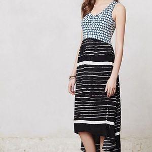 ANTHROPOLOGIE Lilka Arkata Hi Lo Maxi Dress size m